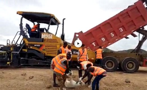 VIDEO: Disturbing Road Construction Blood 'Ritual'