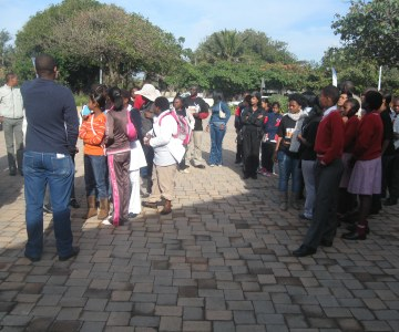 Mandela Day Clean-up at Green Hub