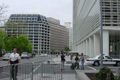 The World Bank headquarters in Washington, DC.