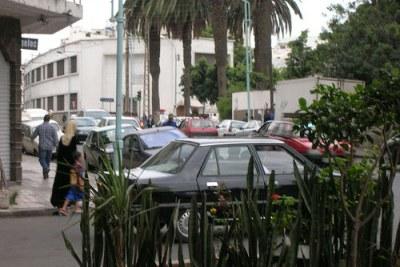 Une rue de Casablanca