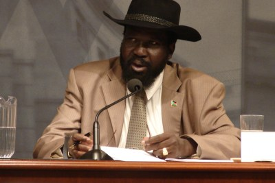 Salva Kiir,  President du Sud-Soudan