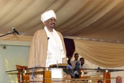 Omar Hassan A. Al-Bashir, President of Sudan.