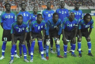 Tanzanian team (file photo)