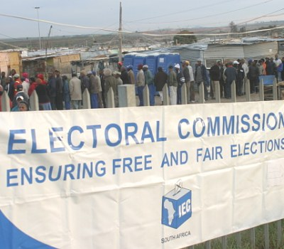 Voting Day in Du Noon, Cape Town