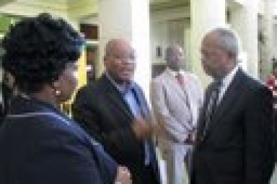 U.S. Congressman Donald Payne Visiting Africa