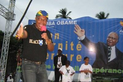 (Photo d'Archives)André Mba Obame, l'un des plus farouches opposants au Gabon