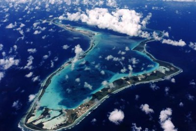 Diego Garcia, the largest island in the archipelago.
