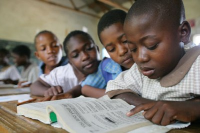 Kids in class. Zimbabwe has almost a million orphans.(File Photo)