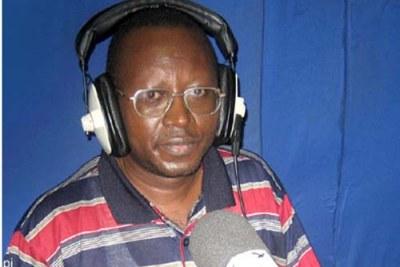 Floribert Chebeya  président de l'ONG de défense des Droits de l'Homme la « Voix des Sans Voix » (Archives)