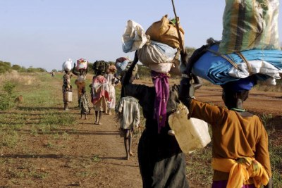 Internally Displaced Persons (file photo).