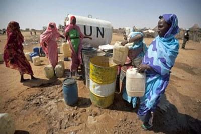 des déplacés du Darfur