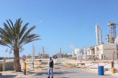 Industries pétrolières.