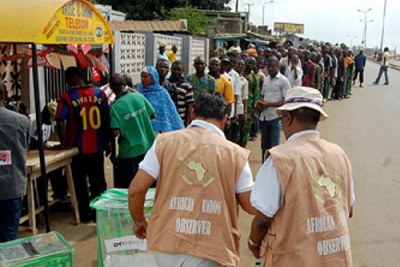 Les électeurs dans Ibadan