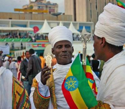 Ethiopian Christians celebrate discovery of Jesus crucifix