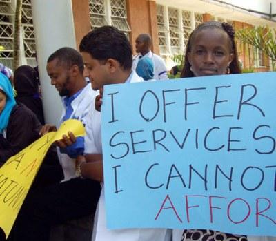 Kenya Doctors on Strike