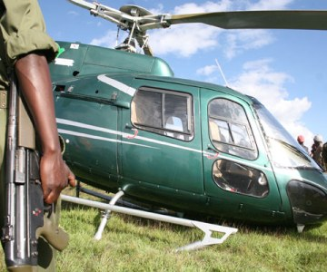 Kenyan Ministers in Helicopter Crash