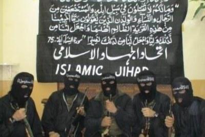 (Photo archive) - Des éléments de Boko Haram.