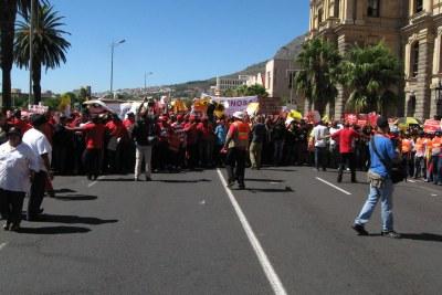 Cosatu March in Cape Town