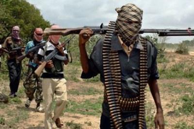 Al-Shabaab militants (file photo).