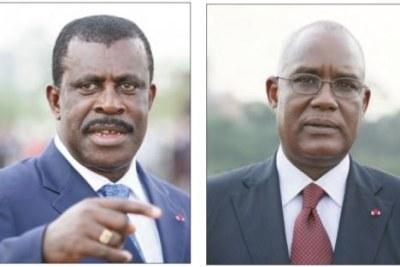 l'ex-Premier ministre Ephraïm Inoni et l'ancien ministre de l'Administration du territoire, Marafa Hamidou Yaya.