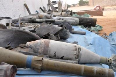 Armes en Libye (archives)
