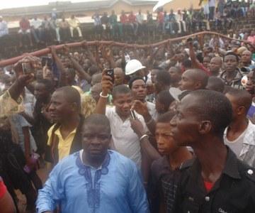 Plane Crashes in Lagos Residential Area