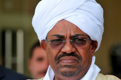 President Omar Al Bashir (file photo).
