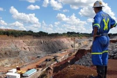 Zambia copper mine