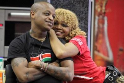 Kenyan Prezzo and Nigerian Goldie.