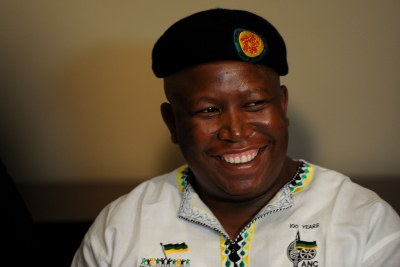 Firebrand politician and expelled ANC Youth League leader Julius Malema.