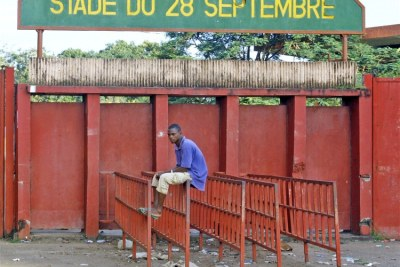 Dozens of people were killed in 2009 at Conakry's Stade du 28 Septembre.