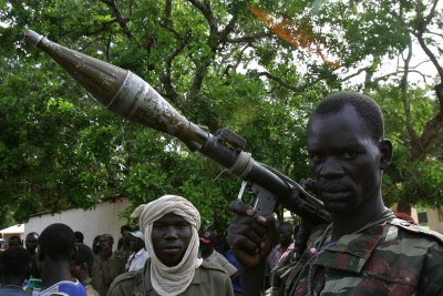Rebels in northern Central African Republic.