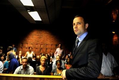 Oscar Pistorius à la barre