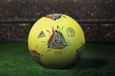 Le ballon officiel de la Confédération Africaine de Football