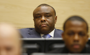 DR Congo's Bemba in Belgium After Release