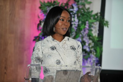 Toyin Saraki, Founder-President of the well-being Foundation Africa and Co-Host of WIE Africa.