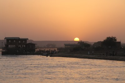 Sunset over Niger River in the Tahoua district (file photo).