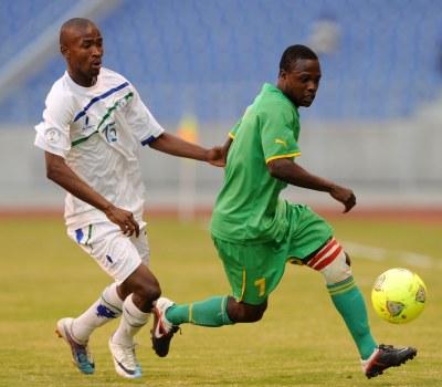 Zimbabwe v Lesotho in Cosafa Semi-Final