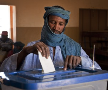 Mali Votes in Legislative Elections