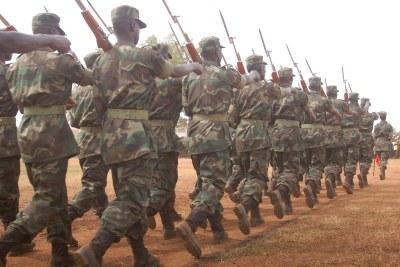 Uganda People's Defence Forces (file photo).