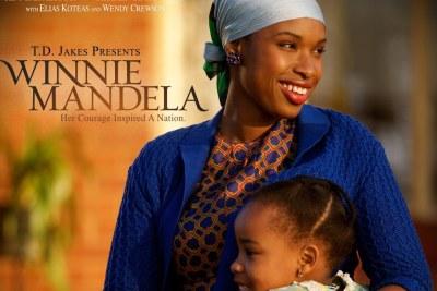 Jennifer Hudson as Winnie Mandela.