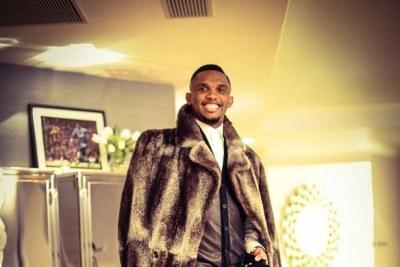 Samuel Eto'O du Cameroun en mode fashion