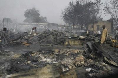 Boko Haram attack.