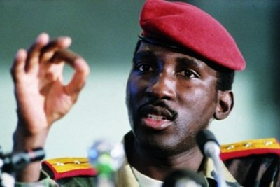 Le capitaine Thomas Sankara