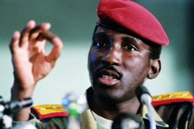 Captain Thomas Sankara (file photo).