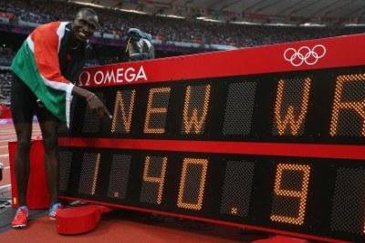 (Photo d'archives) - Les athlètes kényans continuent leur domination sur les pistes internationales