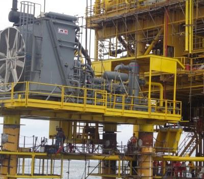 Kaztec Installs Booster Compressor in Offshore Field Nigeria