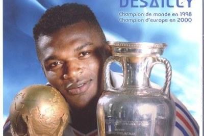 Le franco-ghanéen Marcel Desailly, champion du monde 1998
