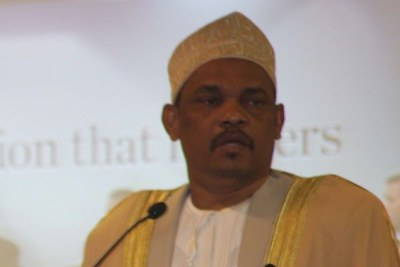 Ikililou Dhoinine, actuel président des Iles Comores.
