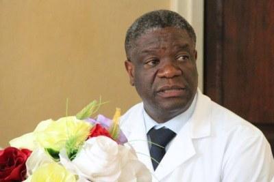 Le Dr Denis Mukwege lauréat du prix Nobel altérnatif 2013